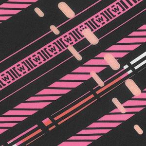 traffic print pink